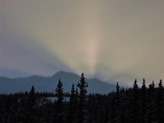 Snowy Rays © Patrick