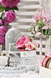 shabby chic style decorations - 220165239