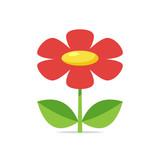 Flower vector isolated illustration - 220189010