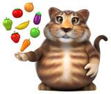 Fun cat - 3D Illustration - 220192097