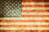 Grunge USA Flag background - 220194867