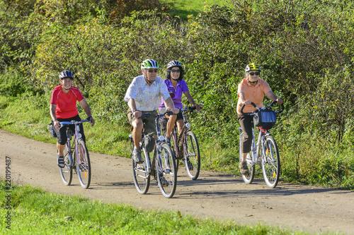raus in die herbstliche Natur mit dem Fahrrad