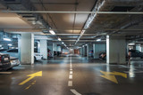Underground garage or modern car parking - 220199646