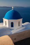 Oia, Santorini. Close up image of Greek Church located at the island of Santorini, South Aegean, Greece. - 220207049