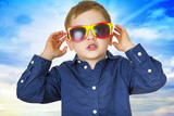 Boy with sunglasses - 220222664