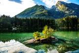 Lake Hintersee in the Bavarian Alps near Berchtesgaden - 220223227