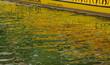canvas print picture - Farbenspiel im Wasser