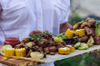 Grilled sliced vegetables on plate. - 220227430
