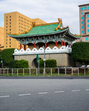 View of Taipei East Gate former part of the walls of Taipeh in Taiwan - 220228402
