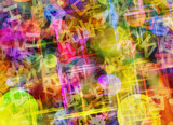 abstract dreamy surreal color backgrounds - 220242075