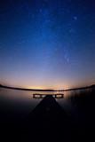 Fototapeta Space - Rozgwieżdżone niebo kaszuby pomorze © Dariusz