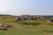 Rock formations in Nova Scotia