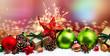 weihnachten karte banner lang  - 220284010