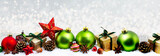 weihnachtsbanner lang