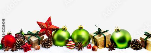christmas card panorama