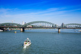 Hohenzollern bridge in Cologne - 220305004