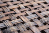 Bamboo basketry weave