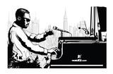 Jazz pianist in New York - 220330608