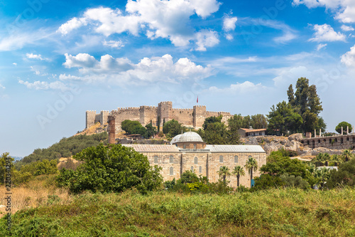 Foto Murales Ayasoluk castle in Selcuk, Turkey