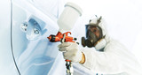 car painting in chamber - 220346067