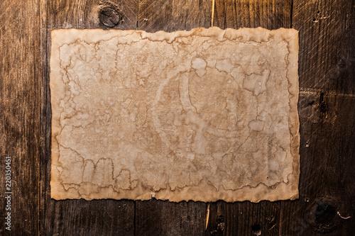 Vintage blank paper - 220350451