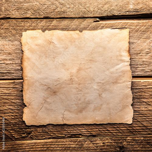 Vintage blank paper - 220350466