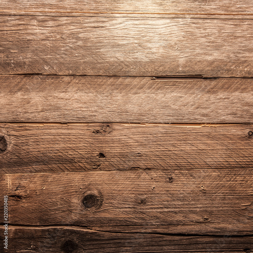 brown wooden background - 220350485