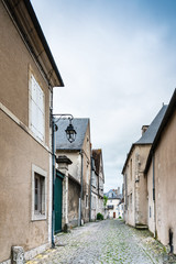 Street view of downtown in Bourges, France © ilolab