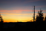 Sunset in mountains. - 220411284