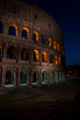 Rome, Italy showing ancient rome at day and night from colloseum to vatican