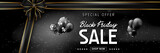 Black friday sale design banner. Black friday special offer. - 220439883