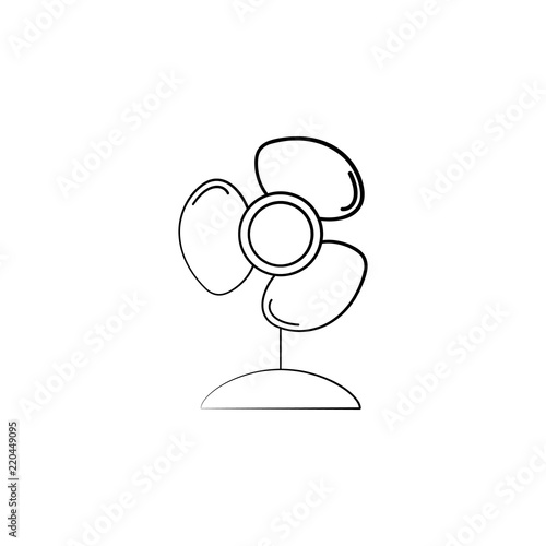 fan icon  Element of electrical devices icon  Premium quality