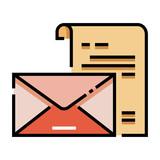 Letter LineColor illustration - 220452209