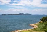 Seascape of the Seto Inland Sea(yoshima coastline and islands),Kagawa,Shikoku,Japan - 220472404