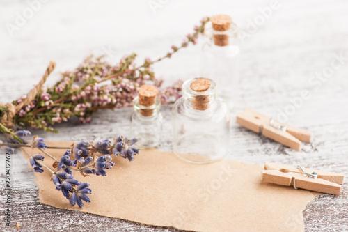 Craft paper, rustic decor - 220482262