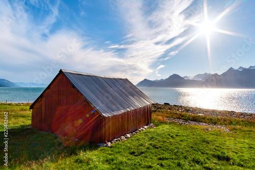 obraz PCV Fienile Norvegia