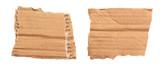 Morceaux de carton ondulé déchiré - 220504094