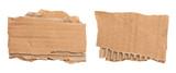 Morceaux de carton ondulé déchiré - 220504233