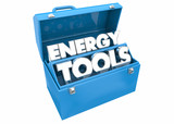 Energy Tools Conserve Manage Save Power Toolbox 3d Illustration - 220512434