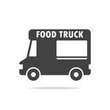 Food truck icon vector - 220517441