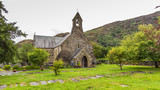Beddgelert church in the heart of Smowdonia National Park in Gwynedd, Wales, UK - 220542024