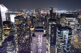 Skyline of the New York from Top of the rock observatory - 220547428
