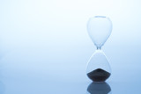 Sand clock, business time management concept - 220554629