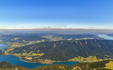 View from Schafberg mountain, Austria - 220567004
