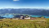 View from Schafberg mountain, Austria - 220567033