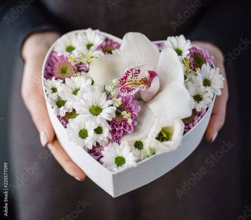 nice bouquet in the hands - 220577099