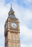 Popular tourist Big Ben tower in London, England, UK - 220578223