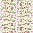 Watercolor Autumn pattern - 220593034