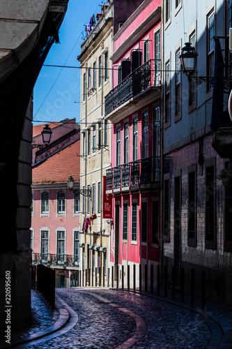 Fototapeta city center of Lisbon, old quarter