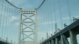 Driving Across Ben Franklin Bridge - 220595869